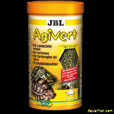 """Корм JBL Agivert в форме """"палочек"""" для черепах, 100мл"""