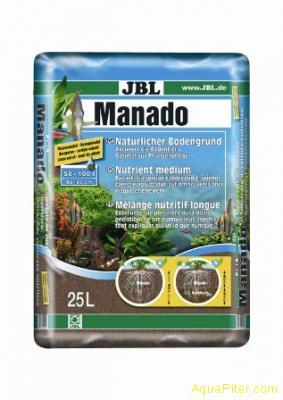 Питательный грунт JBL Manado красно-коричневый, 25 л