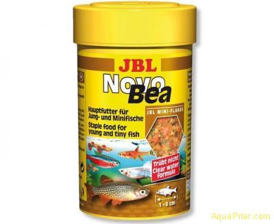 Корм JBL NovoBea для гуппи и других маленьких аквариумных рыб, 100 мл