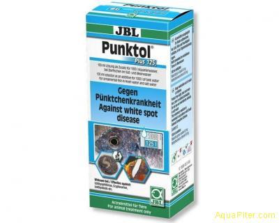 Препарат JBL Punktol Plus 125 против ихтиофтириоза и других эктопаразитов