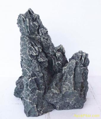 Грот Камень скальный, серый, 16.0*11.0*17.0 см.