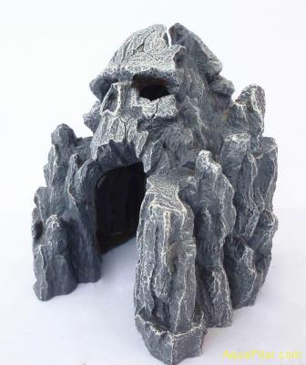 Грот Скала с черепом, 14.0*14.0*15.0 см.