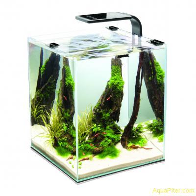 Креветкарий Aquael Shrimp Set Smart Plant II 30 л, (чёрный)