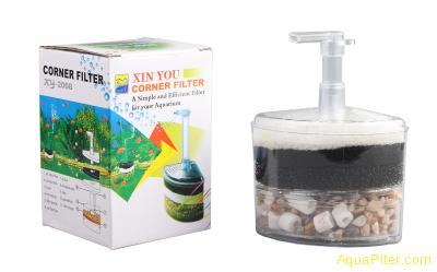 Фильтр аэрлифтный XY-2008 для аквариумов до 100 литров