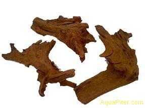 """Коряга натуральная """"Mangrove"""", """"S"""" размером 12-16 см"""