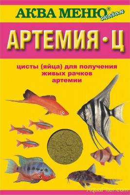 Корм Артемия-Ц, для получения живых рачков артемии, 35г