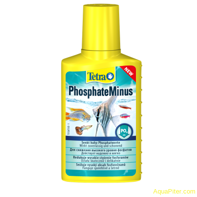 Средство Tetra PhosphateMinus для снижения уровня фосфатов (PO4), 100мл
