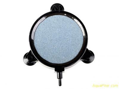 Аэратор корундовый (распылитель воздуха) (диск) 10.8*2см, с присосками