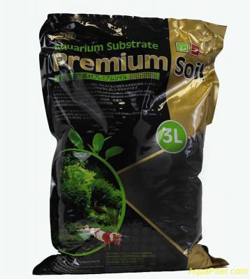 Субстрат ISTA для аквариумных растений и креветок премиум класса 3л, гранулы 3,5