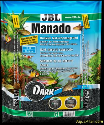 Грунт JBL Manado DARK, темный, 5л