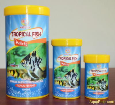 Корм AQUAV Tropical Fish Pellets