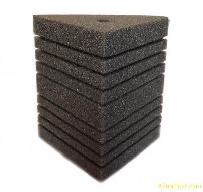 Губка треугольная, 6х6х8х12см