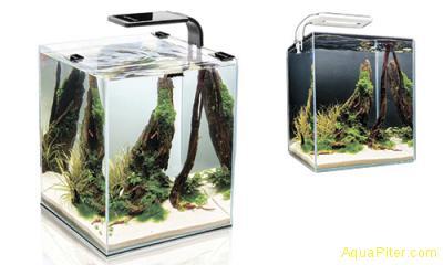 Креветкариум 30л с LED освещением (6 вт) и оборудованием, Aquael SHRIMP SET SMAR