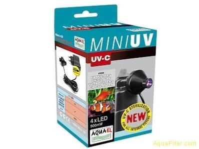 УФ стерилизатор Aquael MINI UV, 0,5 Вт