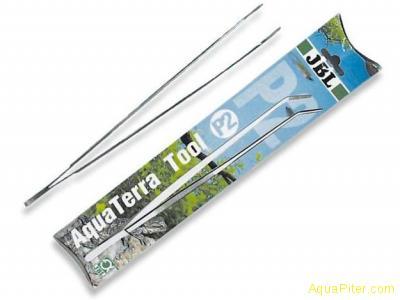 Пинцет JBL AquaTerra Tool P2 с загнутыми концами из нержавеющей стали, 30 см.