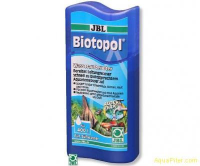 Препарат JBL Biotopol для подготовки воды в экономичной упаковке 100мл