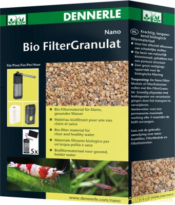 Наполнитель основной Dennerle Nano Bio FilterGranulat для биофильтрации в нано-а