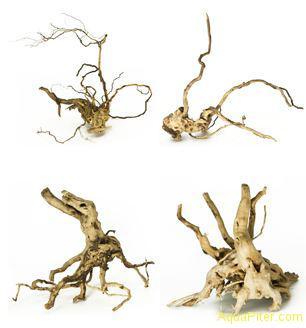 """Коряга натуральная UDeco Desert driftwood """"пустынная"""" S, 20-30см"""