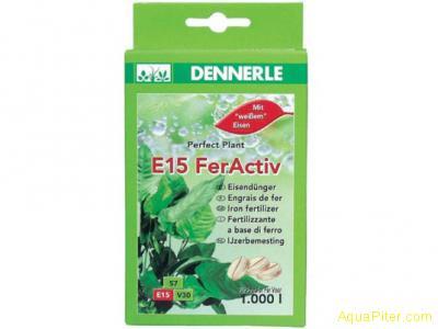 Удобрение железосодержащее Dennerle Е15 FerActiv для всех аквариумных растений в