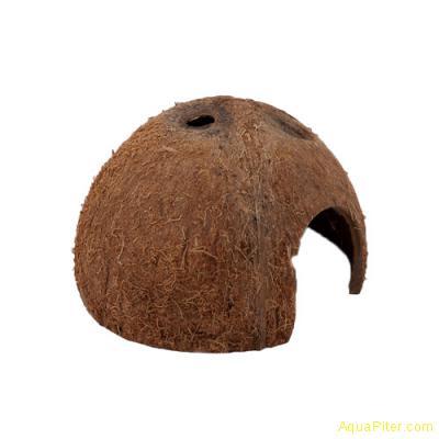 """""""Пещера"""" из кожуры кокоса, 1/2 кожуры кокоса большого"""