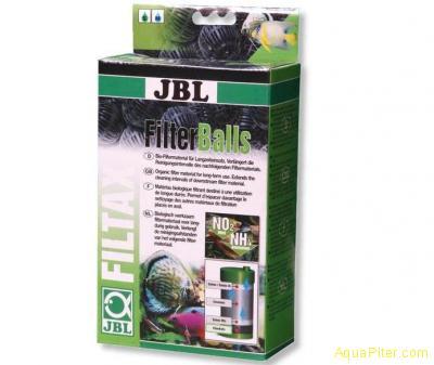 Сетчатые шарики JBL FilterBalls для механической и биологической очистки, 1 л.
