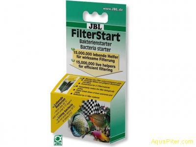 """Препарат JBL FilterStart, содержащий полезные бактерии для """"запуска"""" фильтра"""