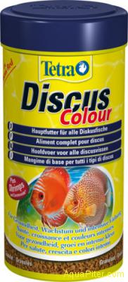 Корм Tetra Diskus Color для улучшения красной окраски, 250мл