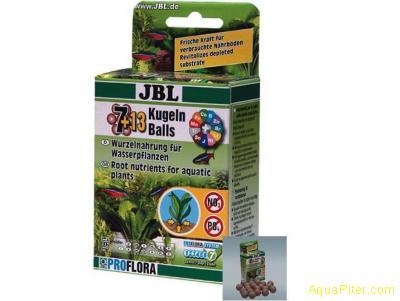 JBL Die 7 + 13 Kugeln  20 шариков с удобрениями для корней растений