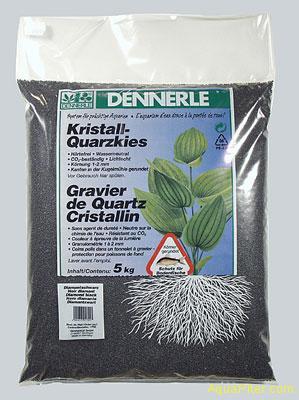 Грунт Dennerle Kristall-Quarz черный, 5 кг.