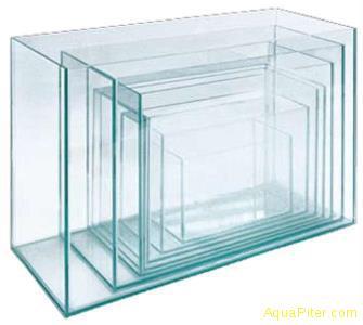 Матрешка Акватех большая, комплект 7 аквариумов (5, 10, 15, 20, 30, 40 и 60 литр