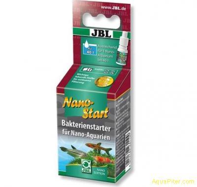 """Препарат JBL NanoStart для """"запуска"""" нано-аквариумов (биостартер), 15 мл"""