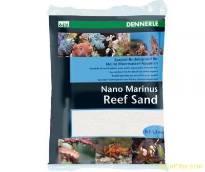 Специальный донный грунт Nano Marinus Reef Sand для морских нано-аквариумов, 2кг