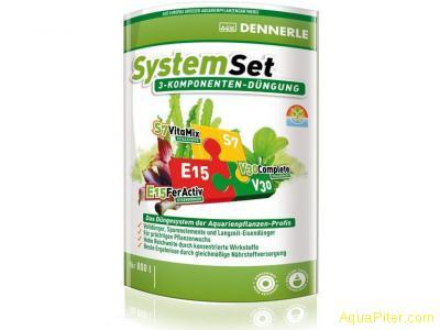 Комплект препаратов Dennerle Perfect Plant System Set  на 800л