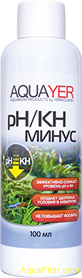 AQUAYER pH/KH минус, 100мл