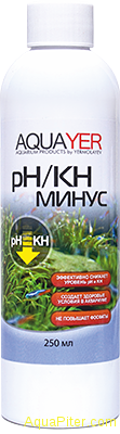 AQUAYER pH/KH минус, 250мл