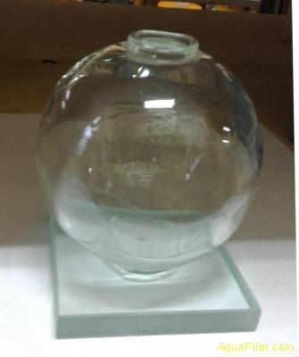 Нано шар-аквариум (ручная работа, диаметр 7.5см)