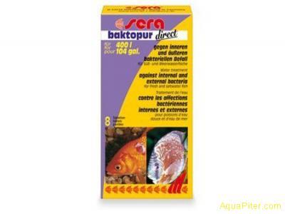 Средство SERA baktopur direct против бактериальных инфекций