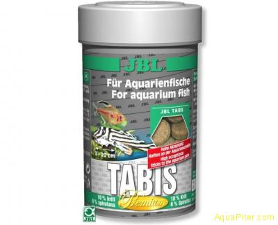 "Корм JBL Tabis класса ""премиум"" в форме таблеток с эксклюзивными добавками, 100м"