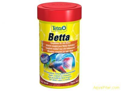 Хлопья для лабиринтовых Tetra Betta 100 мл