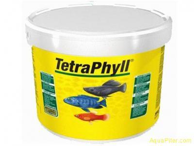 Корм Tetra Phyll для травоядных рыб в виде хлопьев 10л