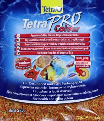 Корм TetraPRO Colour Crisps