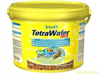 Корм TetraWaferMix для ракообразных и сомовых рыб 3,6л