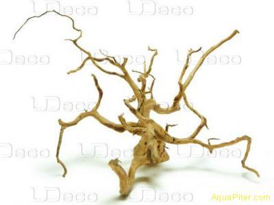 """Коряга натуральная UDeco Desert driftwood """"пустынная"""" XXXL, 70-100см"""