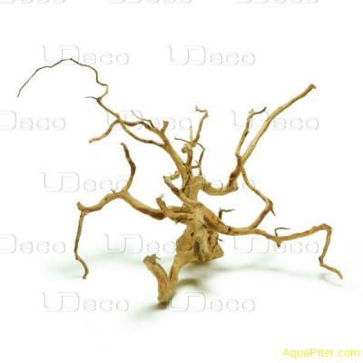 """Коряга натуральная UDeco Desert driftwood """"пустынная"""" XXL, 60-70см"""
