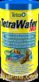 Корм TetraWafer Mix для плотоядных, травоядных и ракообразных донных рыб, 250мл