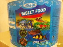 Корм AQUAV Tablet Food, таблетки для донных рыб, фасовка 50 г