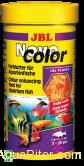 Корм основной JBL NovoColor в форме хлопьев для особенно яркой окраски рыб, 100м