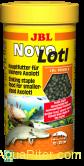 Корм JBL NovoLotl в форме тонущих гранул для молодых аксолотлей (10-25 см), 250м