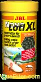 Корм JBL NovoLotl XL в форме тонущих гранул для взрослых аксолотлей (свыше 18 см