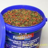"""Корм JBL Pond Sticks 4in1 в форме """"палочек"""" для прудовых рыб, 31.5л, 5кг"""